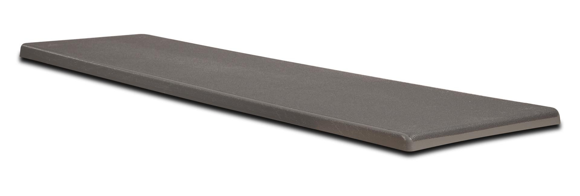 S.R. Smith 66-209-266S20T Fibre-Dive Replacement Diving Board with Matching Tread, 6-Feet, Pewter Gray