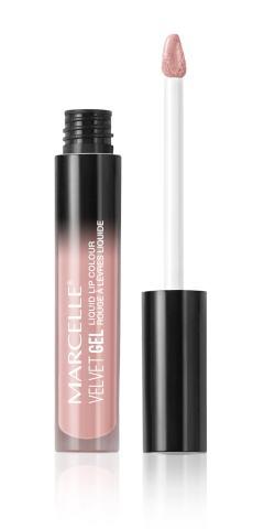 Marcelle Velvet Gel Liquid Lip Colour, Barely Nude, Hypoallergenic and Fragrance-Free, 0.09 fl oz