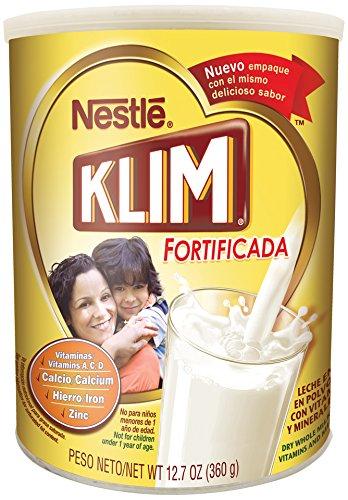 Nestle KLIM Fortificada Dry Whole Milk Powder 12.7 oz. Canister