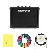 Blackstar FLY3 Battery Powered Guitar Amplifier, 3W bundle