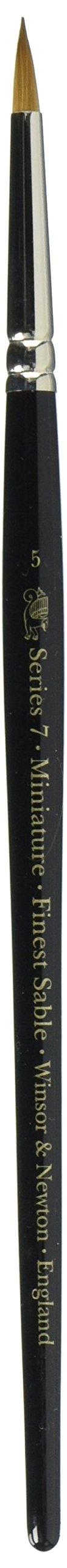 Winsor & Newton Series 7 Kolinsky Sable Miniature Watercolor Brush - Short Handle Round #5