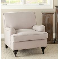 Safavieh Mercer Collection Ella Beige Club Chair