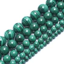 Love Beads 6mm Natural Malachite Round Stone Beads for Jewelry Making 15inch Gemstone Semi Precious