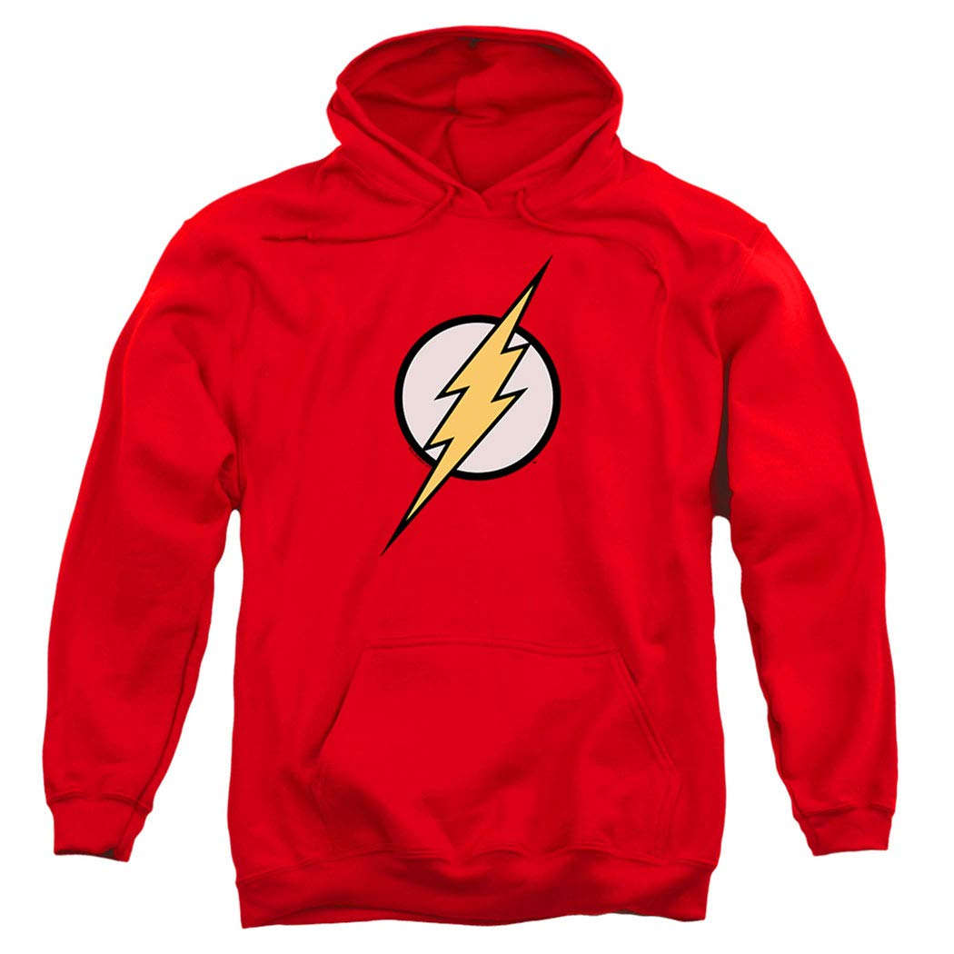 Popfunk The Flash Pull-Over Hoodie Sweatshirt & Stickers