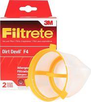 3M Filtrete Dirt Devil F4 Allergen Vacuum Filter