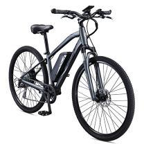 Schwinn Sycamore 350 Watt hub-Drive, Mountain/Hybrid, Electric Bicycle, 8 speeds, Mens Size