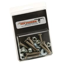 Pit Posse Pp2882 S Track Anchor Mounting Hardware Kit For Tie Down Rail Enclosed Cargo Trailer Van Truck