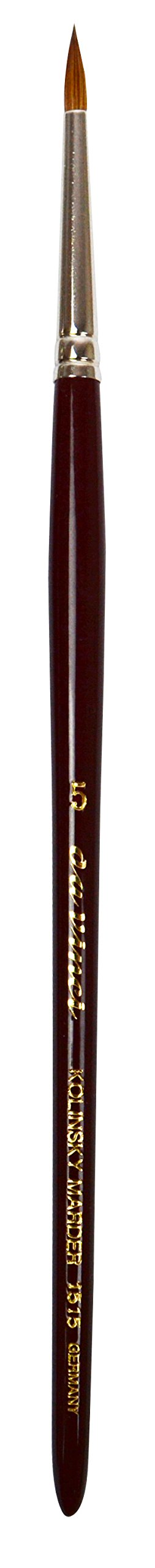 da Vinci Watercolor Series 1515 Maestro Paint Brush, Extra Short Retouching Kolinsky Red Sable, Size 5/0 (1515-5/0)