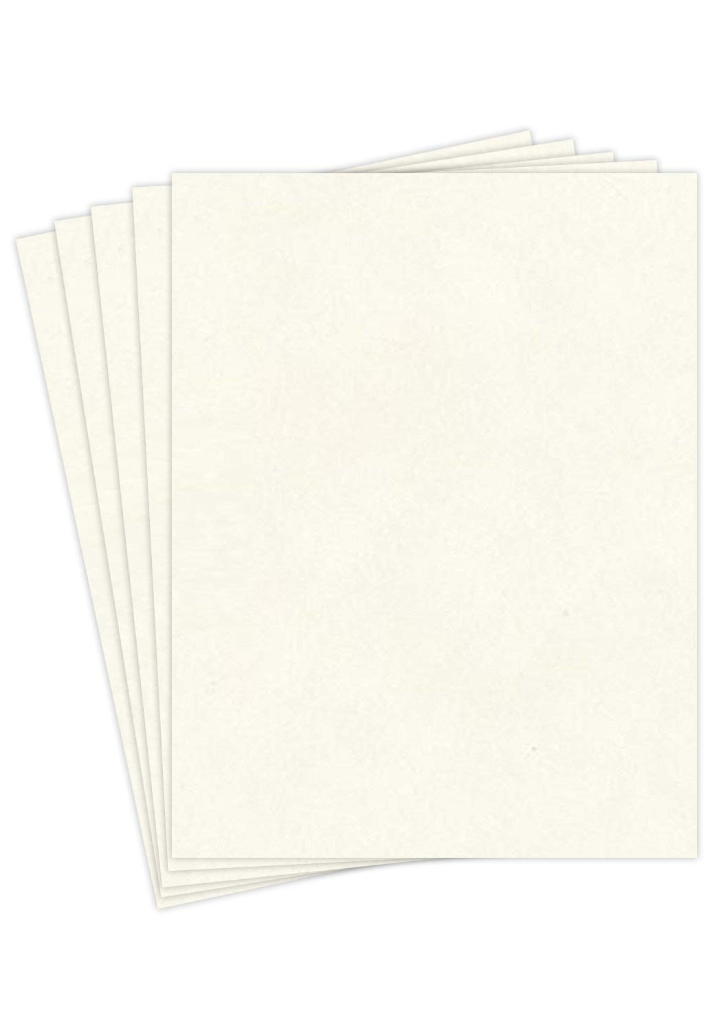 """New White Stationery Parchment Recycled Paper 