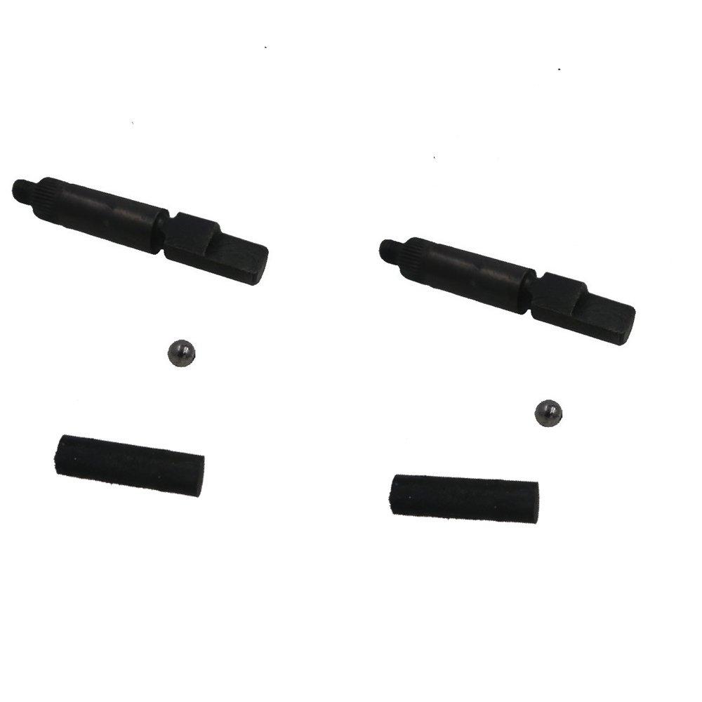 CDHPOWER Bicycle Engine Clutch Camshaft(2pcs), Clutch Bucking Bar Parts(2pcs),Φ8 Steel Ball(2pcs )- Motorized Bike/Bicycle