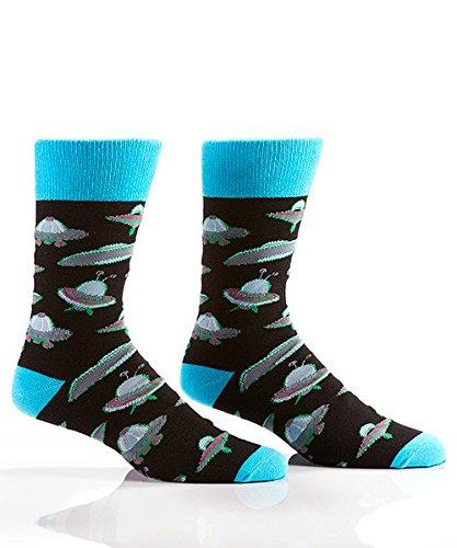 Yo-Sox Funky Fun Quality Comfortable Crew Socks for Dress or Casual Wear