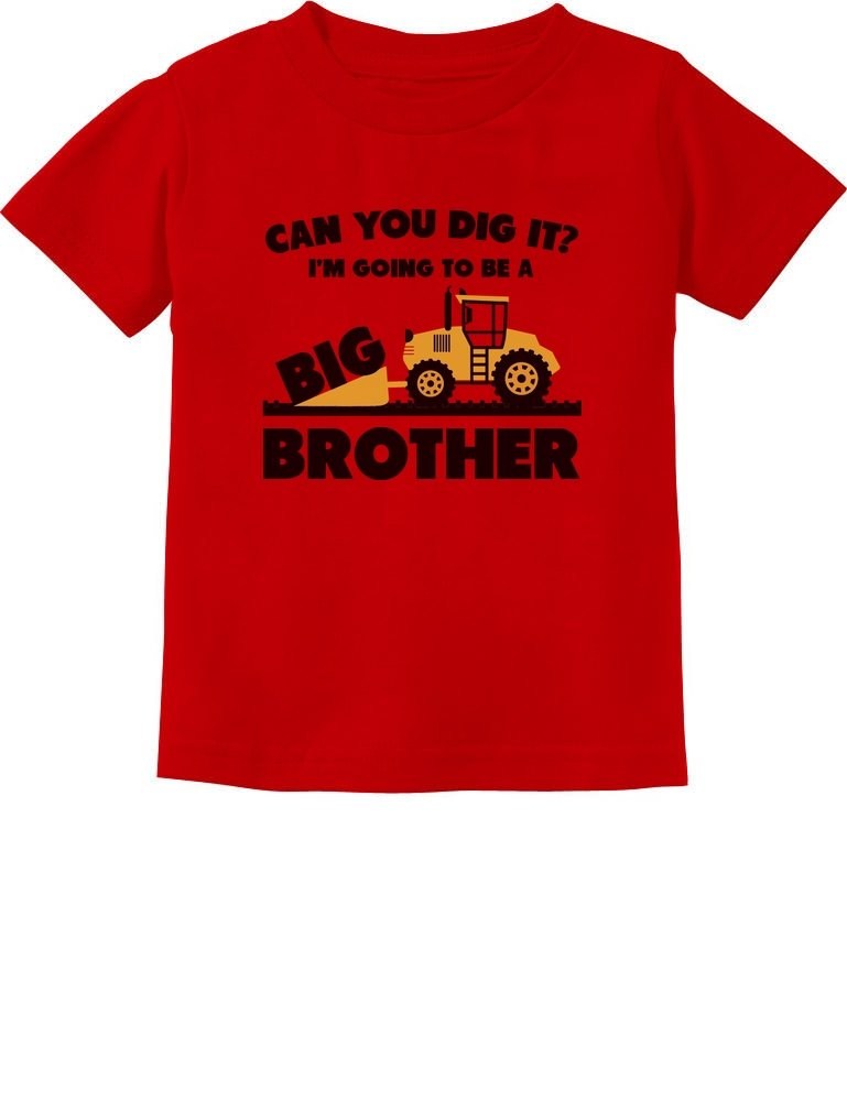 Going to Be Big Brother Gift for Tractor Loving Boys Toddler Infant Kids T-Shirt
