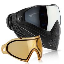 Dye i5 Paintball Goggle (Onyx with HD Thermal Lens Combo)