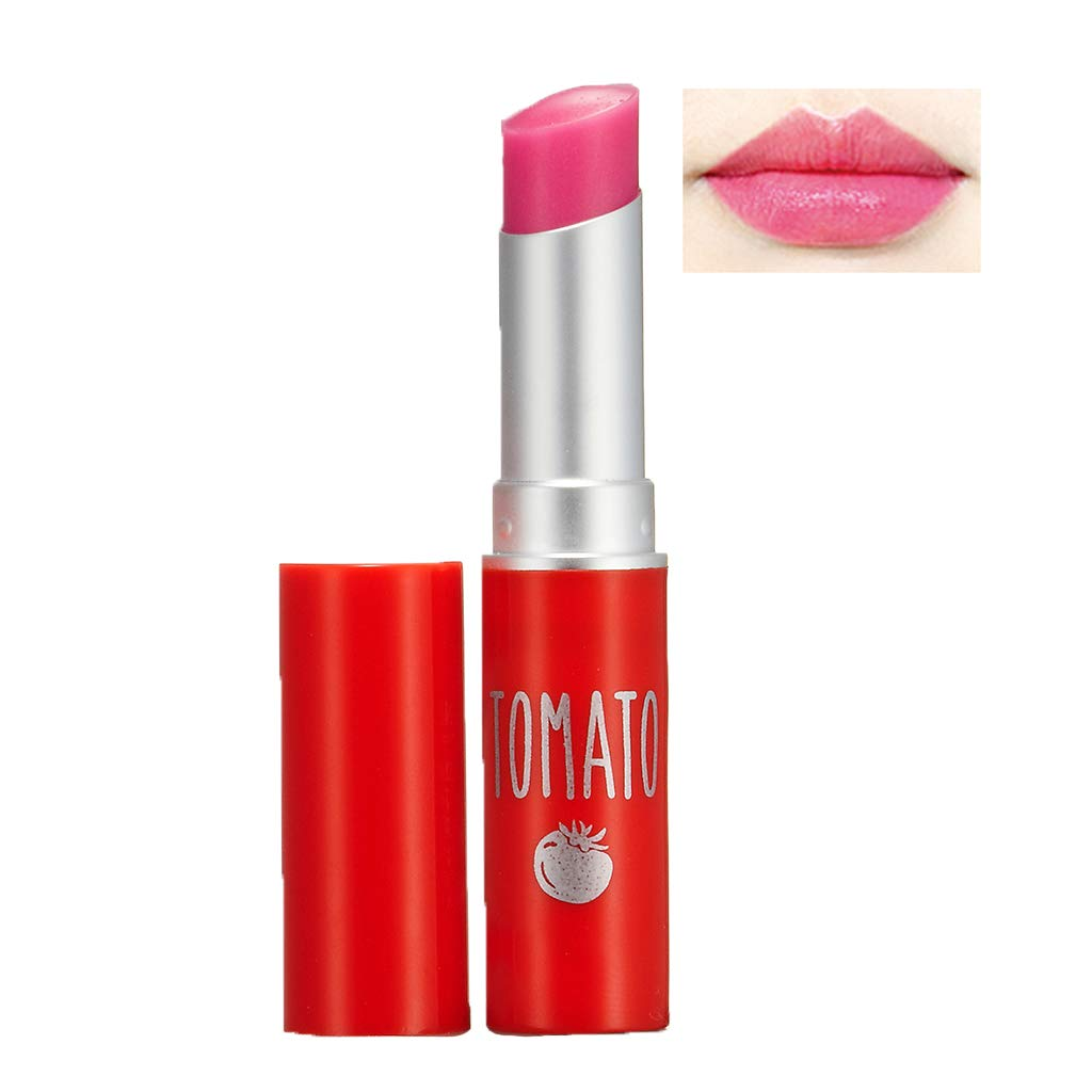 SKINFOOD Tomato Jelly Tint Lip (#02 Berry Tomato) - Moisturizing Tinted Lip Balm with Vitamin E Tomato Extracts, Healthy Looking Long Lasting Natural Lip Makeup