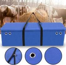 Yuar butee Hay Bale Storage Bag, Extra Large Tote Hay Bale Carry Bag