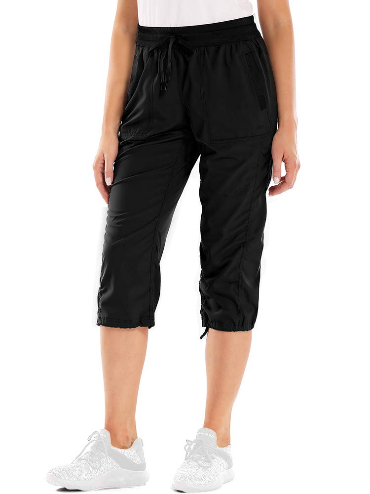 Women's Hiking Cargo Shorts Quick Dry Golf Active Shorts Water Resistant Outdoor Summer Shorts
