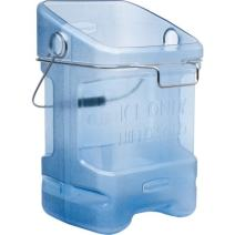 Rubbermaid Commercial Ice Bucket Tote with Bin Hook Adapter, 5-1/2 Gallon, Blue FG9F5400TBLUE