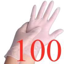Disposable Gloves 100pcs/Box Nitrile Gloves Latex Gloves Vinyl Gloves (100pcs/Vinyl Medium)
