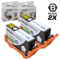 LD Remanufactured Ink Cartridge Replacement for HP 564XL CN684WN High Yield (Black, 2-Pack)