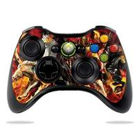 MightySkins Skin Compatible with Microsoft Xbox 360 Controller - Fire Horsemen | Protective, Durable, and Unique Vinyl Decal wrap Cover | Easy to Apply, Remove, and Change Styles | Made in The USA