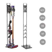 Foho Vacuum Stand for Dyson V11 V10 V8 V7 V6,Stable Metal Storage Bracket Stand Holder for Dyson Handheld DC30 DC31 DC34 DC35 DC58 DC59 DC62 Cordless Vacuum Cleaners & Accessories & Attachments