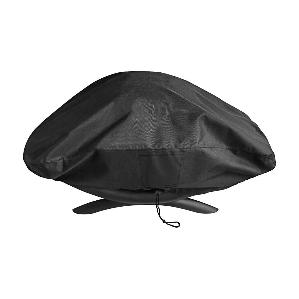 QuliMetal 7110 Grill Cover for Weber Q1000, Q100, Baby Q, Compared to Weber 7110, Special Fade and UV Resistant Material, Special Fade and UV Resistant Patio BBQ Grill Cover