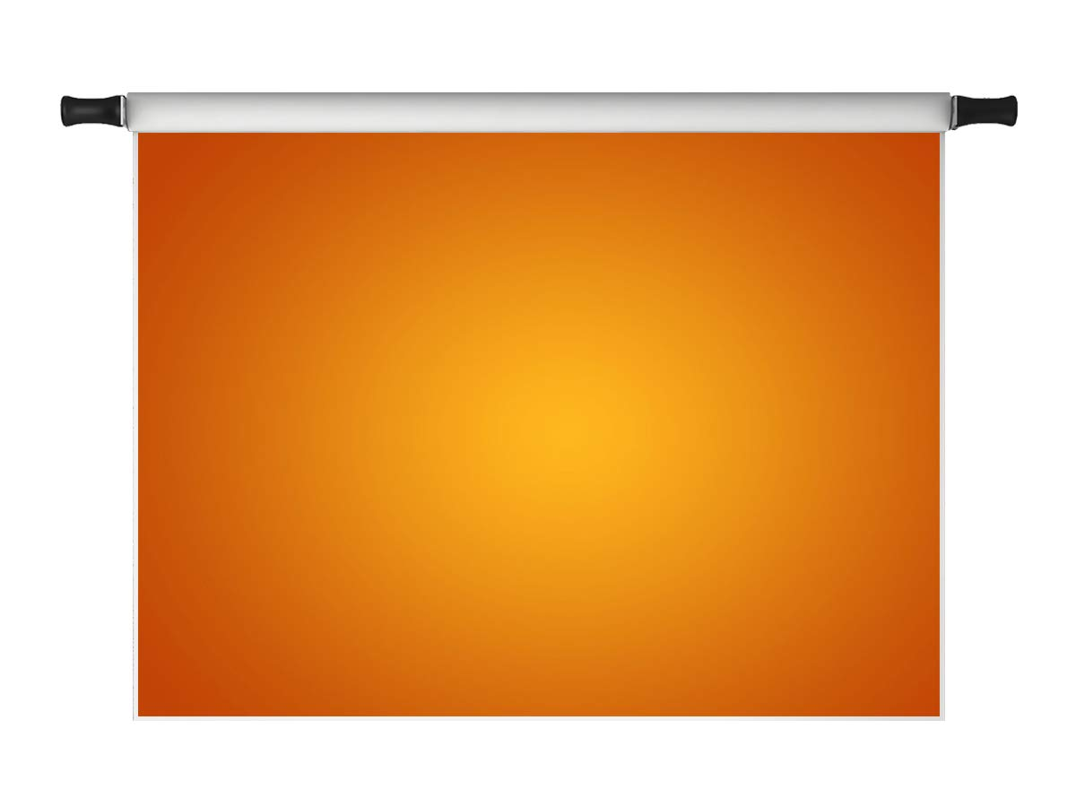 Kate 7x5ft Orange Backdrops for Photoshoot Professional Personal Portrait Microfiber Head Shots Photo Props