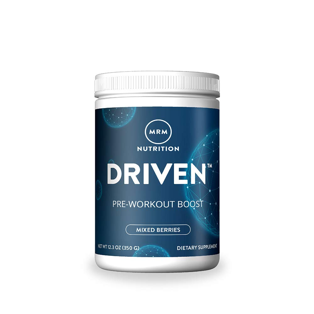MRM Driven Pre Workout Powder for Training Boost - (Mixed Berries)
