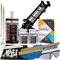 Concrete Foundation Crack Repair Kit - Low Viscosity Polyurethane - FLEXKIT-1050-10
