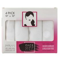 NEW! FACE OFF Cloth - Natural, Reusable Chemical Free Cleansing & Makeup Removal Cloth that works with just warm water!
