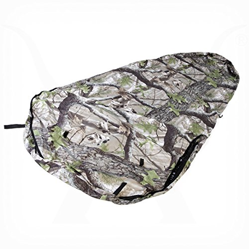 KHAMPA Bivy Sleeping Bag Sack and Tent, Breathable Personal Shelter, Lightweight, Drawstring Bag, Water-Resistant, Taped Seams, Mosquito Netting