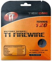 Tier One Sports T1-Firewire - Co-Poly Tennis String for Ultimate Spin