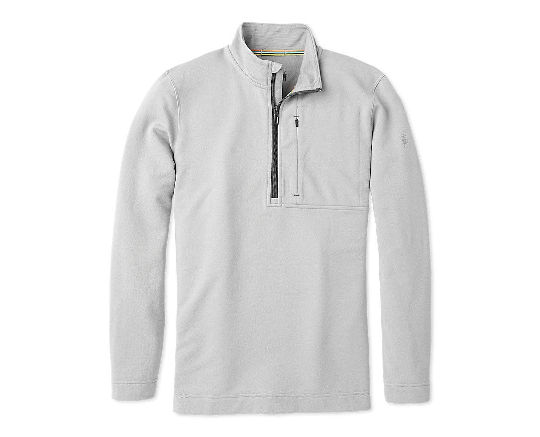 Smartwool Merino Sport Wool Fleece - Men's ½ Zip Performance Pullover