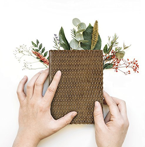 Storeindya Leather Journal Diary Christmas Gifts Travel Diary Paper Book Handmade Genuine Eco-Friendly Unlined Pages (Ancient River Collection)