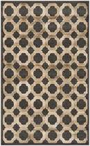 "Safavieh Martha Stewart Collection MSR74302-3220 Area Rug, 3'3"" x 5'3"", Camel/Camel"