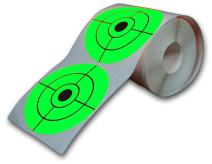 """Big Dawg Targets 250 Target Roll - Florescent 3"""" Inch Adhesive Shooting Target Stickers"""