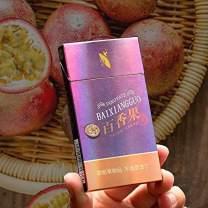 1/3/5/10 Packs Green Tea Herbal Cigarettes Fruit Tea Peony Tea Blueberry Coffee Cherry Tea Tobacco Smoke-Free and Nicotine-Free Cigarette Alternatives Quit Cigarette (1 Pack,Passion Fruit Tea)