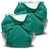 Lil Joey 2 Pack All-in-One Cloth Diaper, Peacock