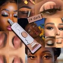 BELLESKY Matte Eyeshadow Primer Prevent Oily Lids and Creasing Eye Primer Base Long-lasting Waterproof & Smudgeproof Eye Primer Makeup for All Shadows (Dark, 15ml)