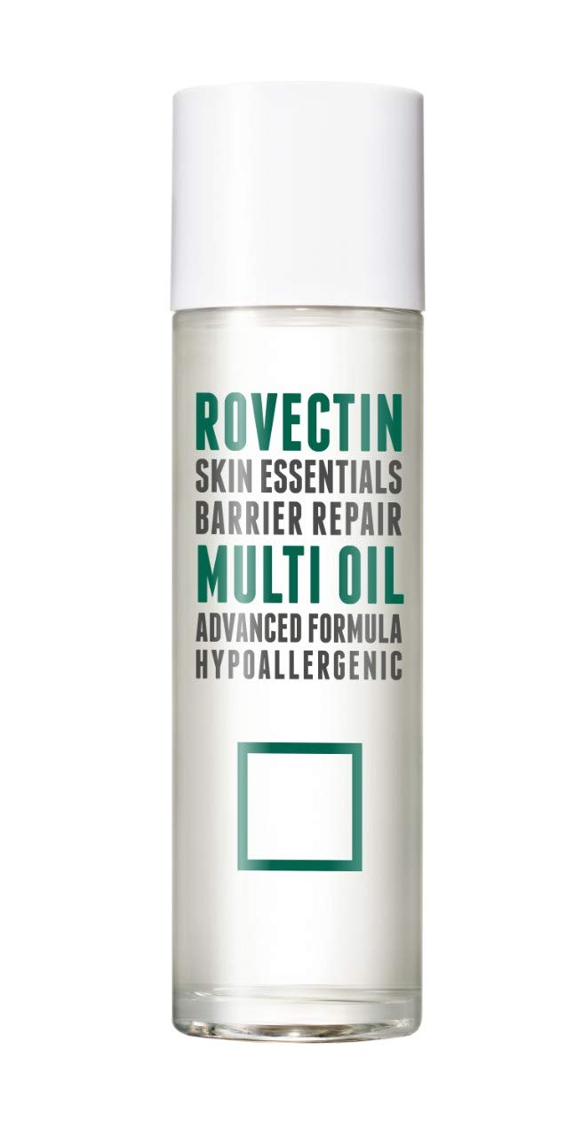 Rovectin Barrier Repair Multi Oil For Face and Body - Hydrating, Anti-Aging, Skin-Repairing Multi Oil Formulated with 9 Botanical Oils - Neroli, Argan, Macademia, Jojoba, etc. (3.4 fl oz)