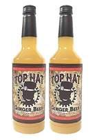 Top Hat Craft Ginger Beer Syrup - 32oz btl - Soda Stream Flavor Syrups (2 Pack)
