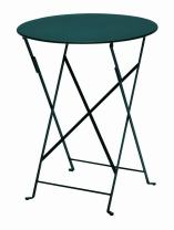 "Fermob - Bistro 24"" Round Folding Table - Cedar Green"