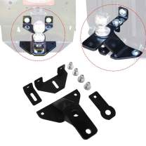 HEKA Universal Lawn Garden Tractor Hitch with Support Brace Kit