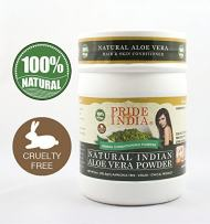 Pride Of India - Indian Aloevera (Aloe Barbademsis) Herbal Hair & Skin Care Powder, Half Pound, 100% Natural - BUY ONE GET 50% OFF 2ND UNIT (Mix and Match - Promo APPLIES at Checkout FOR EVERY 2)
