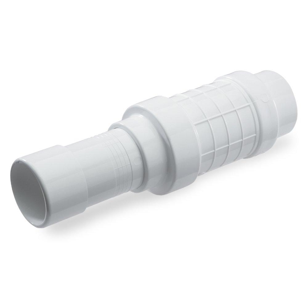 Flo Control Quik-Fix Expansion Pipe Repair Coupling, 1-1/2 In, Socket x Spigot, 150 Psi, Pvc