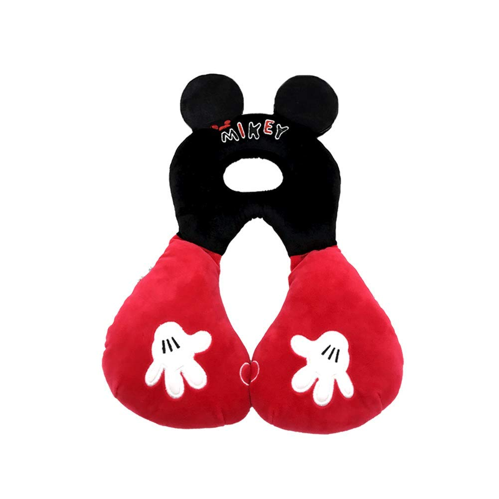 Travel Friend Head and Neck Support Pillow,Infant Comfortable Stroller Head Support Travel Cushion for Car Seat Fit for Baby 6-24Months