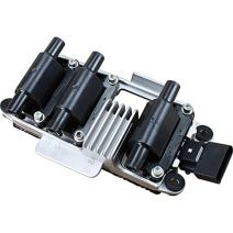 AIP Electronics Premium Ignition Coil Pack Compatible Replacement For 1998-2005 Audi and Volkswagen 2.8L V6 Oem Fit C256