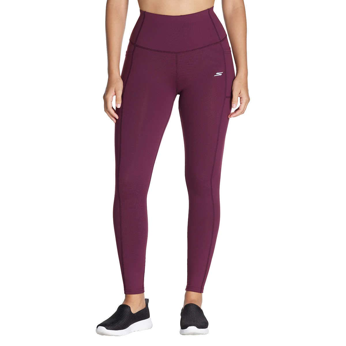 Skechers Women's Go Walk High Waist Yoga Workout Legging
