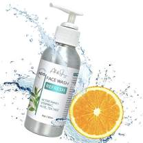 Ali & Shay Anti Aging Facial Cleanser with Nano-Sized Vitamin C - Reduces Appearance of Wrinkles & Acne - Brightening Face Wash Cleans Pores on Oily, Dry or Sensitive Skin - 100% Organic & Natural - 4oz