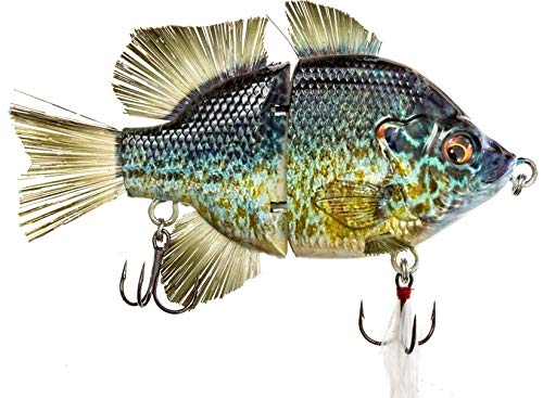 """4.5"""" RF Gillman Glide Bait Bass Musky Striper Fishing Big Lure Multi Jointed Shad Trout Kits Slow Sinking or Floating"""
